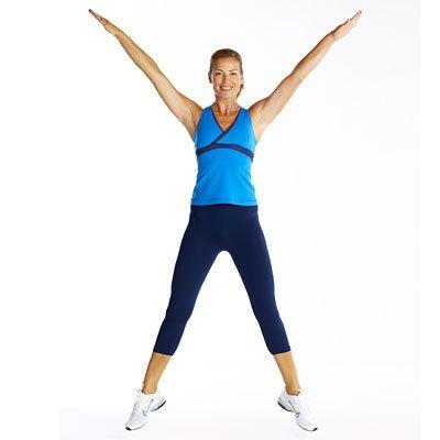 Кардио упражнения в домашних условиях - прыжки