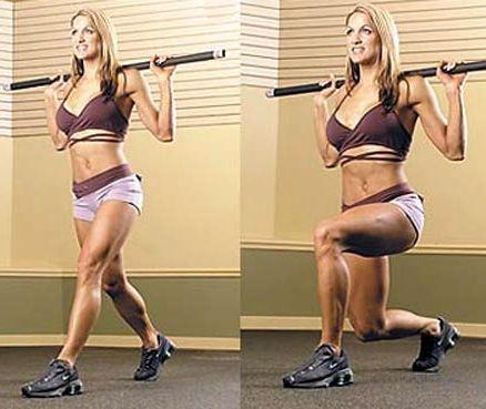 Упражнения для прокачки ног