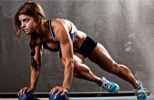 Тренировки во время сушки тела