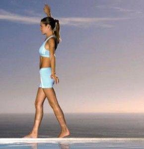 Упражнение на координацию - ходьба по линии
