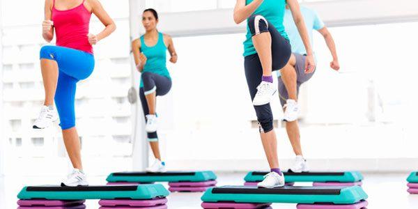 Упражнения на степ платформе приводят в тонус мышцы нижней части тела