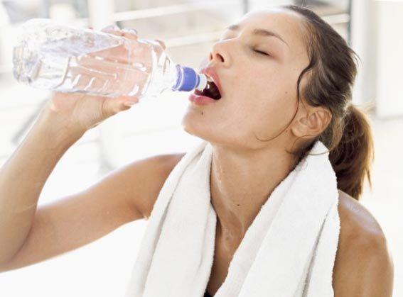 Пить после тренировки лучше воду