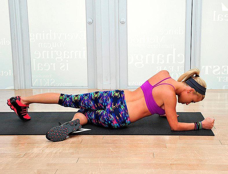 Упражнение - поднятие бедра