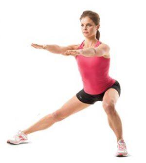 Перекаты - упражнение на внутреннюю поверхность бедра
