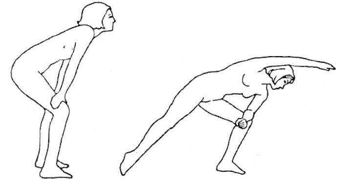 Боковая растяжка - упражнение для боковой поверхности тела