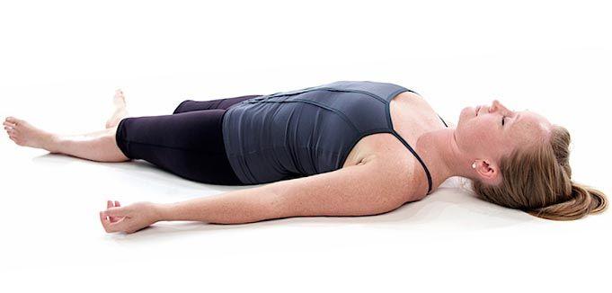 Поза шавасана йога