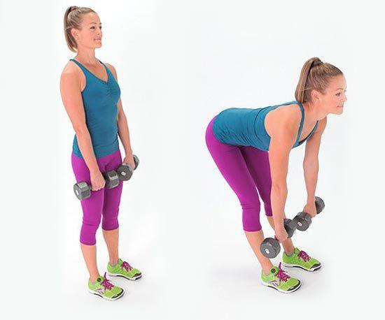 Становая тяга - упражнение для ягодиц