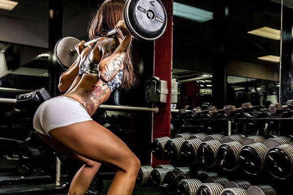 Женская тренировка с весом
