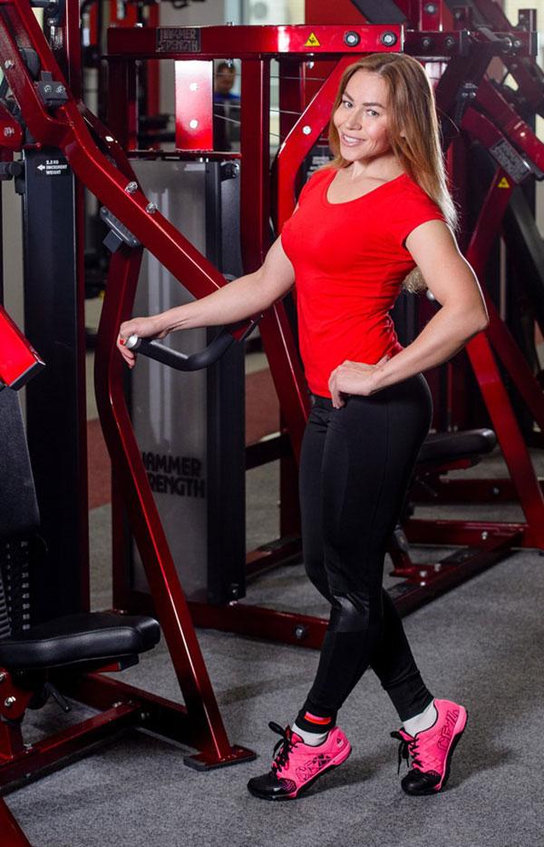 Евгения Коркунова — тренер, инструктор тренажерного зала.