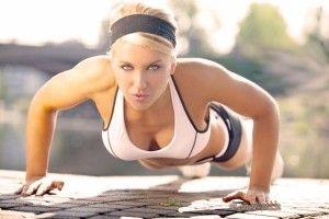Качаем грудь в домашних условиях - комплекс упражнений