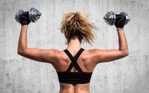 Упражнения на плечи и руки