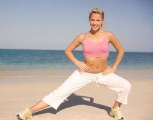 Перенос веса в приседе - эффективное упражнение для внутренней поверхности бедра