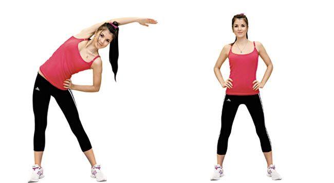 Упражнения для правильной осанки