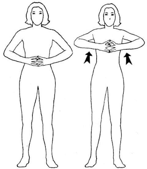 Упражнение «Алмаз» для рук