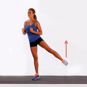 Отведение бедра - упражнение для боков