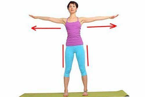 Упражнения для похудения боков