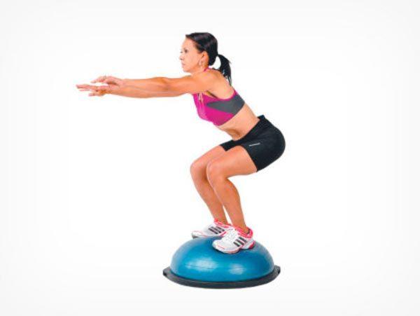 Упражнение на bosu