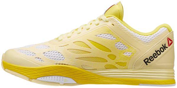 Желтый ботинок