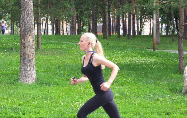 Пробежка в парке